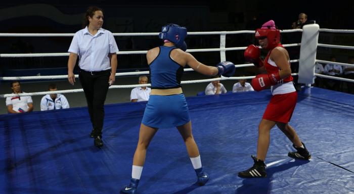 Фото с девушками про бокс